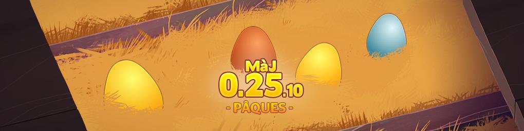 Mise à jour de Pâques en approche !