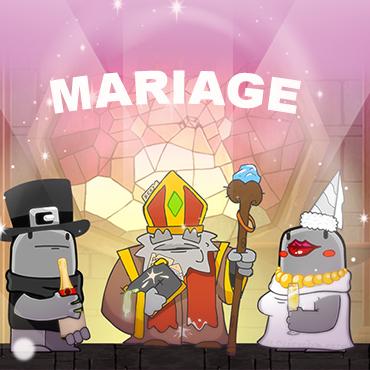 Unis pour la vie : mariez vos Nubs sur UB