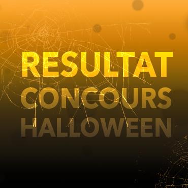 Résultats du concours d'Halloween