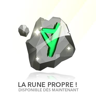 Rune propre