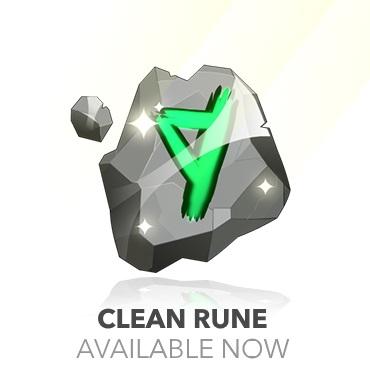 Clean rune