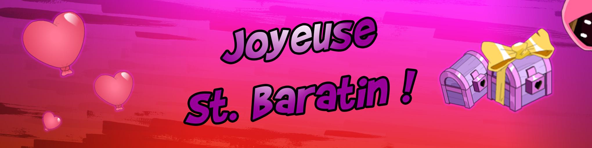 Fêtez la St. Baratin sur UB